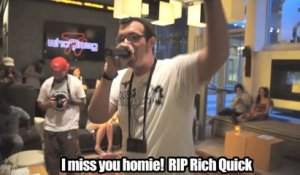 RIP - Rich Quick - live at Aloft for WHO?MAG Distribution Showcase