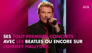 Johnny Hallyday : Paul McCartney s'est rendu sur sa tombe