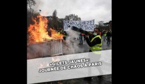 «Gilets jaunes»: Journée de chaos à Paris, 412 interpellations et 133 blessés