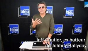 Jeff Gautier, ex batteur de Johnny Hallyday