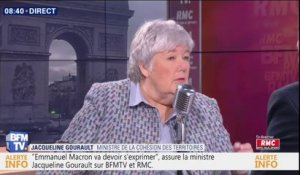 Jacqueline Gourault confirme la suppression de la hausse des taxes sur le carburant en 2019