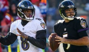 Lamar Jackson to start vs. Bucs, Joe Flacco will serve as backup