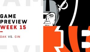 Raiders vs. Bengals preview | Week 15