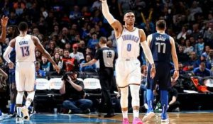 NBA : Westbrook et OKC se vengent des Mavericks