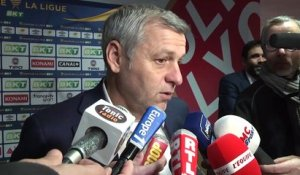 Coupe de la Ligue : la déception de Bruno Genesio