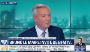 "Bruno Le Maire est ""favorable à la suppression totale de la taxe d'habitation"""