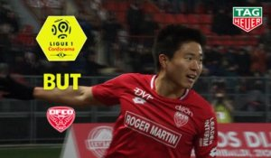 But Changhoon KWON (24ème) / Dijon FCO - AS Monaco - (2-0) - (DFCO-ASM) / 2018-19