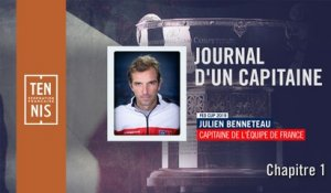 Fed Cup : le journal du capitaine (1)