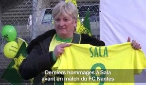 Football/Sala:réactions de Nantais avant le match à la Beaujoire