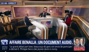 Affaire Benalla: un document audio