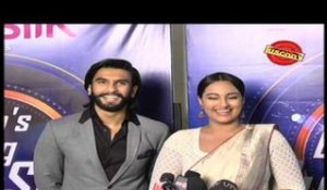 Starcast of 'Lootera' on a dance reality