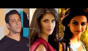 Salman 'kicks' Deepika and Katrina!