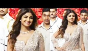Shilpa Shetty LOOKS STUNNING in Traditional Avtaar at Isha Ambani's Royal Wedding