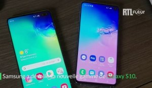 On a essayé le Galaxy S10 de Samsung