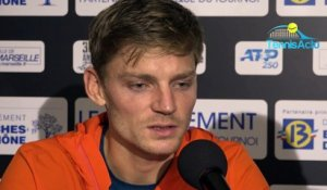 "ATP - Marseille 2019 - David Goffin is back ? : ""On verra ça à la fin de la semaine"""