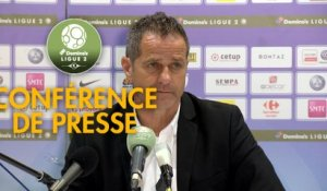 Conférence de presse Grenoble Foot 38 - Red Star  FC (2-0) : Philippe  HINSCHBERGER (GF38) - Faruk HADZIBEGIC (RED) - 2018/2019
