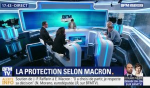La protection selon Emmanuel Macron (1/2)