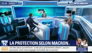 La protection selon Emmanuel Macron (2/2)