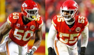 What's the market for Justin Houston and Dee Ford?