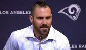 Eric Weddle's introductory press conference with Rams