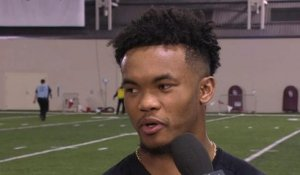 Kyler Murray on why he didn't run 40, questions about leadership