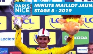Yellow Jersey Minute / Minute Maillot Jaune - Étape 5 / Stage 5 - Paris-Nice 2019