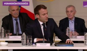 L'introduction d'Emmanuel Macron
