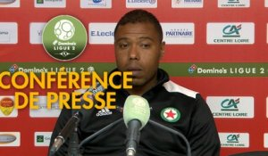 Conférence de presse US Orléans - Red Star  FC (2-2) : Didier OLLE-NICOLLE (USO) -  (RED) - 2018/2019