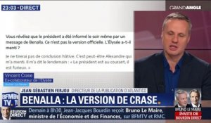 Benalla, la version de Crase
