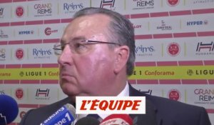 Caillot «On nous a volé quatre points contre Lille !» - Foot - L1 - Reims