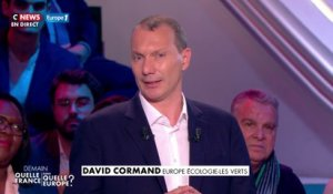 La conclusion de David Cormand