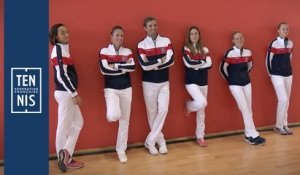 Fed Cup France-Roumanie la minute bleue n°6