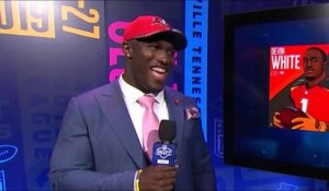 Devin White on what he'll buy his horse after draft: 'She gotta get a new trailer'