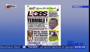 REPLAY - Revue de Presse - Pr : EL HADJ ASSANE GUEYE - 30 Avril 2019