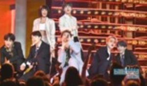 BTS & Halsey Dominate the Stage With 'Boy With Luv' Performance at 2019 BBMAs | Billboard News