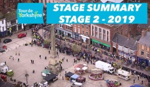 Stage 2 Barnsley / Bedale - Summary - Tour de Yorkshire 2019