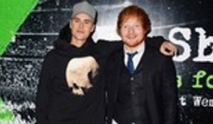 Ed Sheeran Shares Highly Anticipated Collaboration With Justin Bieber | Billboard News