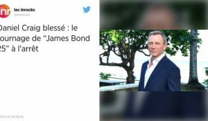 « James Bond ». Daniel Craig se blesse sur le tournage, la production suspendue