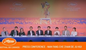 NAN FANG -  Press conference  -  Cannes 2019 - EV