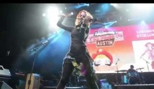 Lindsey Stirling Performing at Perez Hilton's One Night in Austin at SXSW 2014