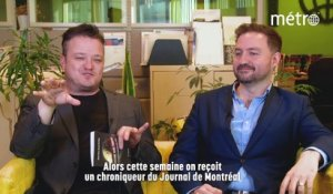 Discussion de salon avec  Simon-Pierre Savard-Tremblay