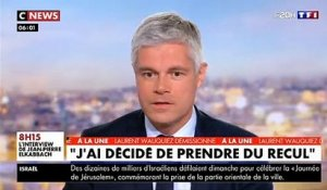 Laurent Wauquiez démissionne en direct au 20h de TF1