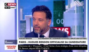 Hugues Renson officialise sa candidature à la mairie de Paris