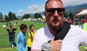 Thibaut Davreux coach U13 GF38 sur Orange Vidéos
