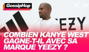 Combien Kanye gagne-t-il avec sa marque Yeezy ?