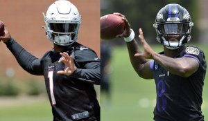 Who'll have more rush TDs in '19: Kyler or Lamar Jackson?