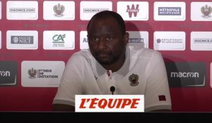 Vieira « On a envie de faire une belle saison » - Foot - L1 - Nice