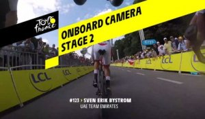 Onboard camera - Étape 2 / Stage 2 - Tour de France 2019