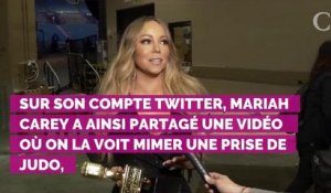 VIDEO. Mariah Carey relève avec brio le bottle cap challenge.....