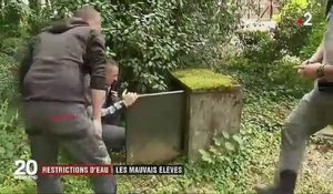 Sécheresse : restrictions d'eau partout en France
